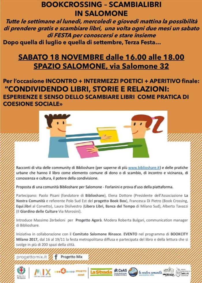 Bookcrossing Salomone